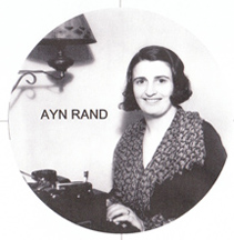 Ayn Rand, novelist and philosopher