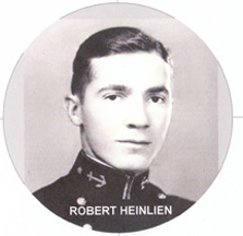 handsome young Robert Heinlein