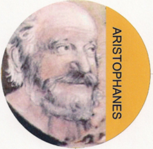 Aristophanes, the original comic playwright