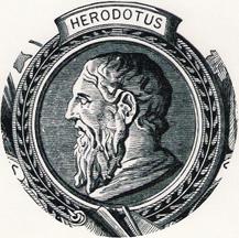 BC historian Herodotus