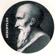Ancient Greek playwright Aeschylus