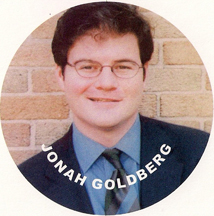 Liberal Fascism author Jonah Goldberg