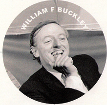 National Review founder William F Buckley