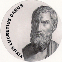 Philosopher and poet Titus Lucretius Carus
