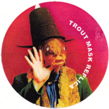 Trout Mask Replica magnet