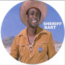 Cleavon Little as Sheriff Bart