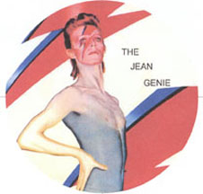 David Bowie is The Jean Genie