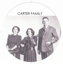 Carter family - Sara, Maybelle and AP Carter