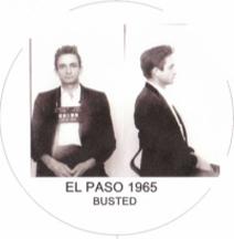 Johnny Cash, 1965 El Paso mugshot