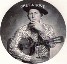 goofy looking picture of Chet Atkins