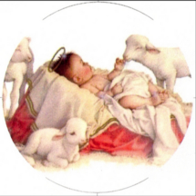 lambs of God, including baby Jesus