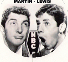 Dean Martin and Jerry Lewis keychain