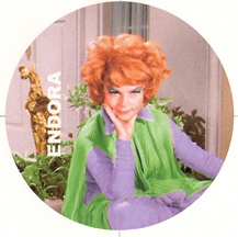 Agnes Moorehead as the immortal Endora