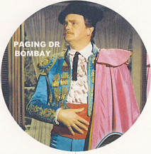 Bernard Fox as Dr Bombay on Bewitched