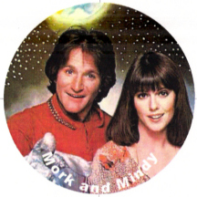 Mork and Mindy magnet
