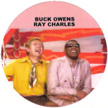 Buck Owens and Ray Charles laughing their fool heads off on Hee Haw