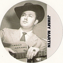 bluegrass legend Jimmy Martin