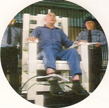Andy Griffith in the electric chair