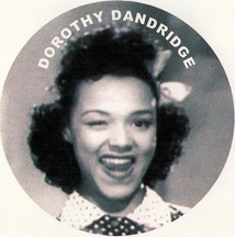 Dorothy Dandridge throwing a wink