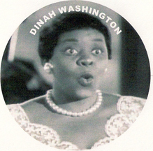 picture of 1940s jazz singer Dinah Washington