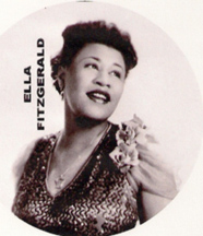 beautiful young Ella Fitzgerald