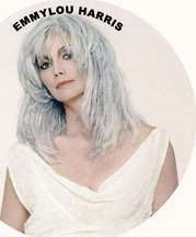 beautiful mature Emmylou Harris
