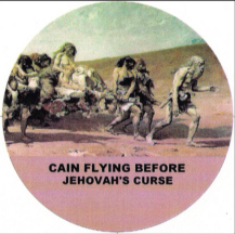 Cain Flying Before Jehovah's Curse