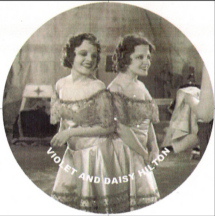 siamese twins Violet and Daisy Hilton in Freaks, 1932