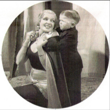 Olga Baclanova and Harry Earles in Freaks, 1932
