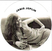 Janis Joplin and her Southern Comfort