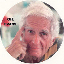 jazz musician and orchestrator Gil Evans