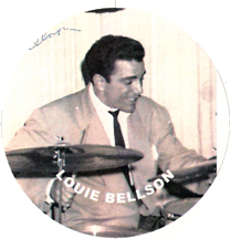 jazz drummer Louie Bellson