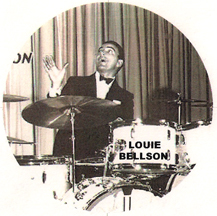 Louie Bellson on the drums