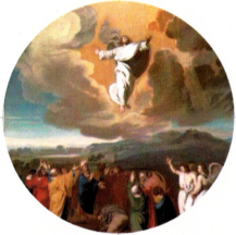 the ascension of Jesus reborn unto heaven