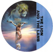 Jesus Christ, the lion, and the lamb