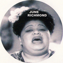 jazz singer June Richmond