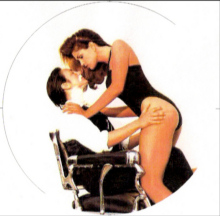 K.D. Lang and Cindy Crawford