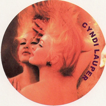 Cyndi Lauper's true colors magnet
