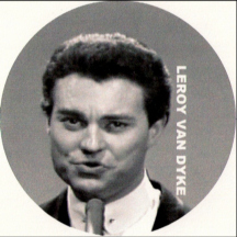 "country singer Leroy Van Dyke singing ""Walk On By"" 1965 image"