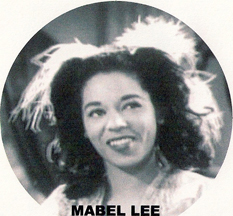 singer and dancer Mabel Lee