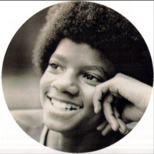 happy young Michael Jackson