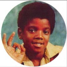 Michael Jackson as a boy