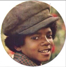 boyhood image of Michael Jackson in a groovy hat