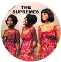 glamorous color image of the Supremes