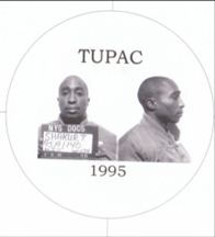 Tupac Shakur 1995 mugshot