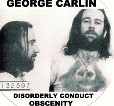 George Carlin 1972 mugshot