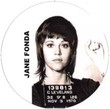 Jane Fonda 1970 mugshot