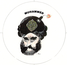 Muhammed, Mohammed blasphemous image
