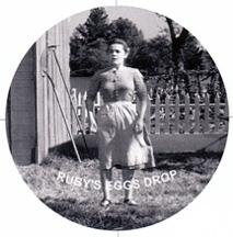 Ruby's eggs drop when she sees Harry Powell