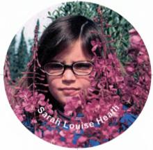 childhood image of Sarah Louise Heath